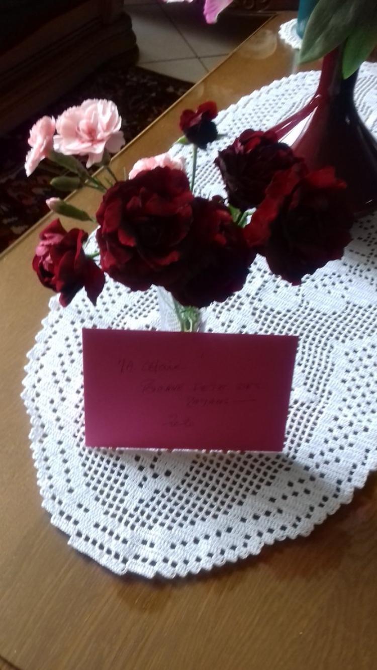 cadeau de fete des meres de mon mari et mes enfants