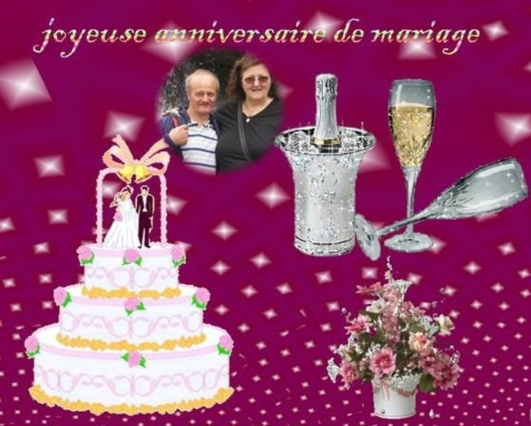 JOYEUX ANNIVERSAIRE DE MARIAGE A MON AMIEORCHIDEEROSE
