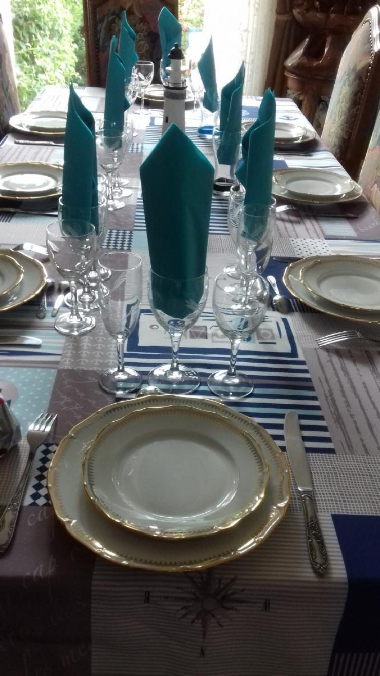 voila le repas de ce dimanche avec notre fille olivia et ses beaux parents