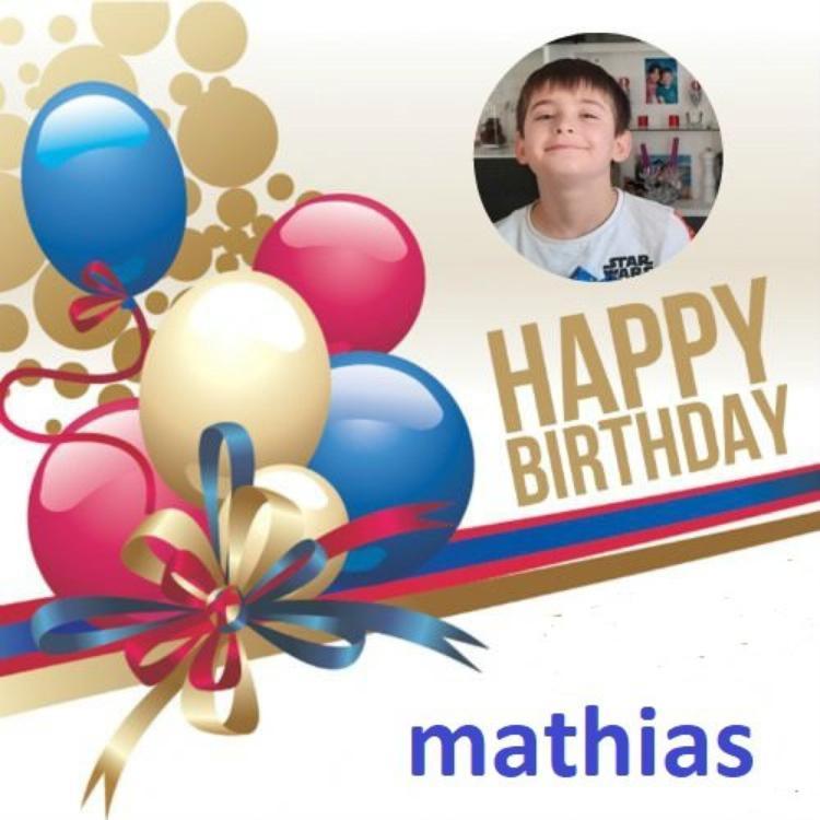joyeux anniversaire au petit fils a josy41 <mathias>