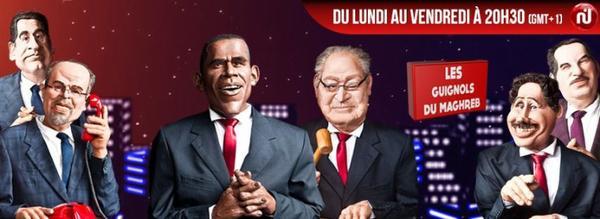 Les guignols du Maghreb sur Facebook :)