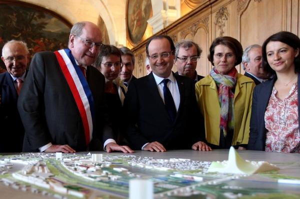 François HOLLANDE à CAEN