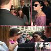 * 07/09/09 : Demi rencontre des fans au centre-ville de Toronto (Canada) où elle se promène. (angel)  *