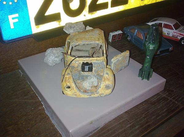 fini la cox pour futur diorama