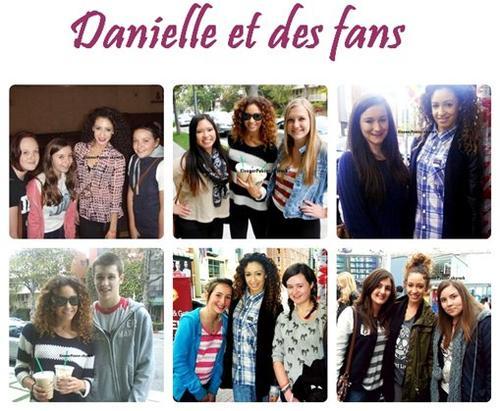Danielle et des fans, Eleanor plus jeune, les deux filles ensembles + une vidéo sur Hannah