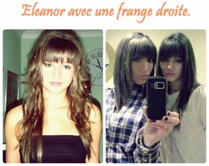 Eleanor a 14ans, Danielle sur un Photoshoot, Eleanor avec la frange droite + Gemma a XFactor.