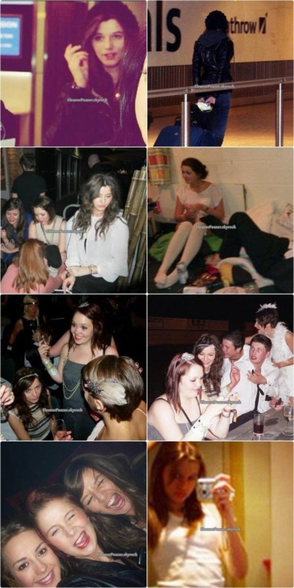 Danielle avec Liam et des amis, Photos en vrac d'El, dessin Louanor