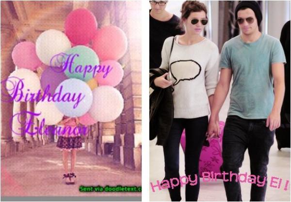 """Article """"spécial"""" : Joyeux anniversaire Eleanor !"""