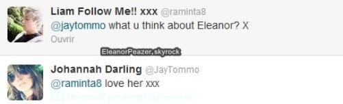 Photos vrac Danielle et Eleanor, Twitter, Fanvidéo pour Danielle, Dani a l'anniversaire de Liam