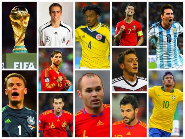 Coupe du Monde FIFA 2014 ☆ Dream Team