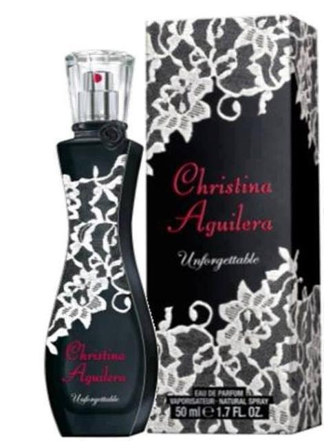 """Christina Aguilera nouveau parfum """"Unforgettable"""" ?"""