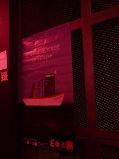 Concert Stephan EICHER - Le 106 Rouen, le 15/02/2013