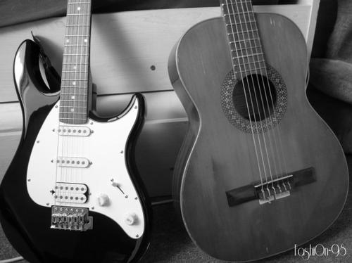 Mes guitares, ma musique ♪