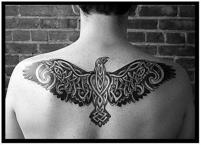 Corbeau L Art Du Tatouage Significations