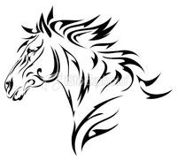 Clipart Flower Outline in addition Pro Finger Draw Paint likewise 3084517567 Cheval as well Zentangle Coloring Pages Unicorn Sketch Templates in addition Unicorn Tattoo Design 54846866. on unicorn head outline