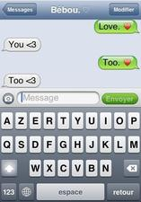 Mon amour , mon c½ur. Mon c½ur , mon amour.(8)