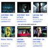 Rattrapage -->  ------------------------------------------------- # Justin dépasse Lady Gaga sur Youtube #