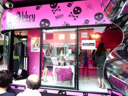 Abbey Dawn : Ligne de vêtement