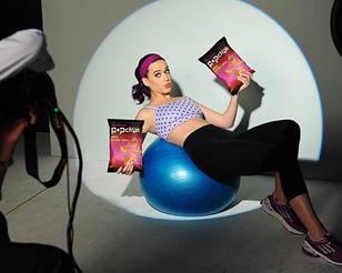 Katy Perry : Nouvelles photos pour PopChips