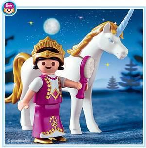 5A MAGIE FÉERIE & LICORNE 4645 Princesse & Licorne - boble-playmobil ...