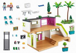 09 MAISON MODERNE LUXE 5574 maison de luxe - boble-playmobil ...
