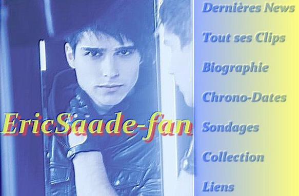 """Bienvenue sur EricSaade-fan, le blog 100% Eric Saade, le chanteur le plus """" Popular """" de Suède et de France prochainement !"""