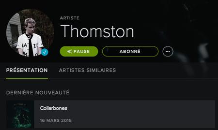 Thomston - Mon inspiration