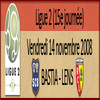 Bastia-Lens, 15éme journée de Ligue 2