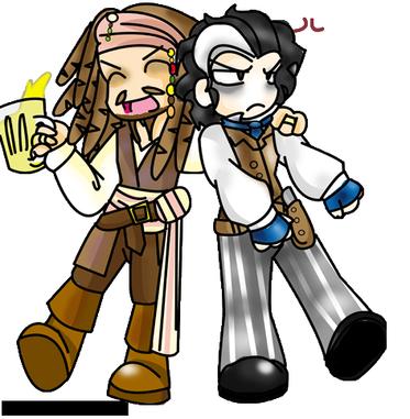 """""""Voyons, je suis le Capitaine Jack Sparrow."""""""