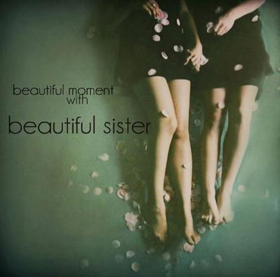 Pour ma soeur...