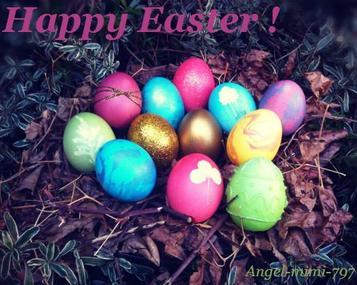 Bonnes fêtes de Pâques ! ☺