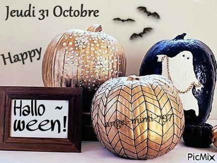 Joyeux Halloween ! ☻