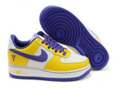 outlet store 2407a 2a50f 2011 Nike Air Force 1 Low GS Kobe Bryant Varsity Maize White Varsity Shoes