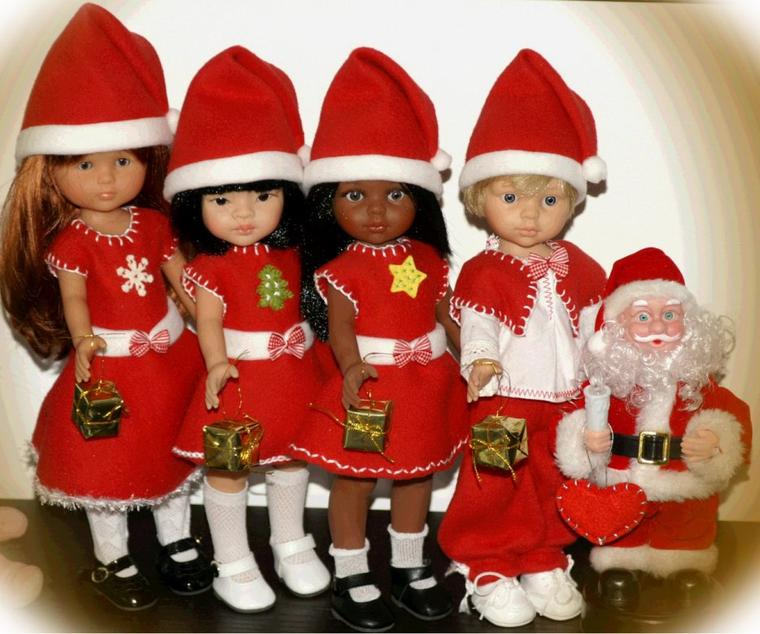 Nous sommes prêts pour le soir de Noël!!