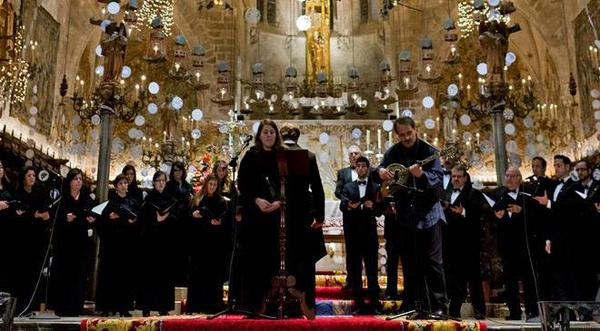 Le chant de la Sibylle de Majorque Cathédrale de Majorque Palma