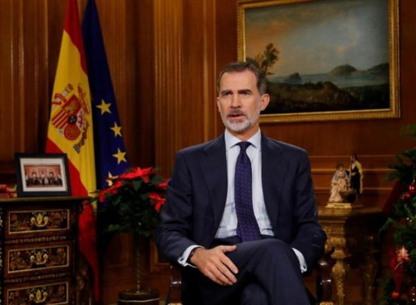 INFO Dans son message de Noël, le roi d'Espagne appelle à l'unité du pays