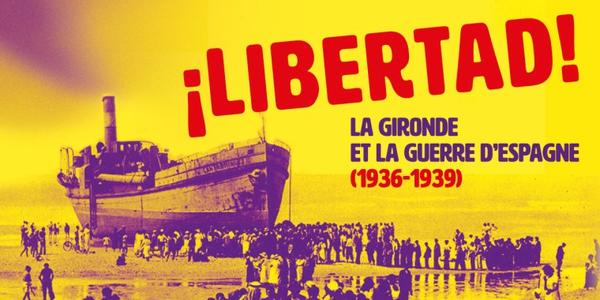 Exposition LIBERTAD aux Archives départementales à Bordeaux.