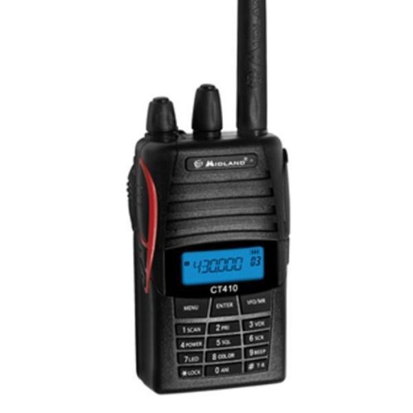 CT 410 H.H. UHF - Talkie radio amateur UHF - Midland