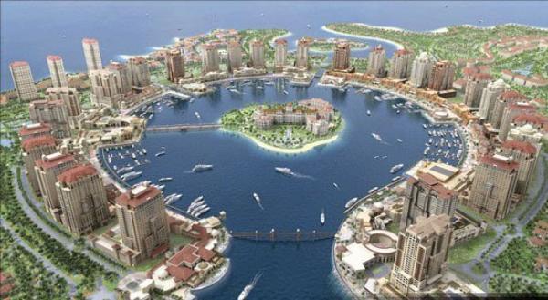 QSO a 19H40 AVEC 115 Qatar SUR 27.560.00 USB S9 R5 115AH117..Améde..Le Qatar avec ses 200000 habitants