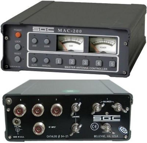 SGC MAC-200 ANTENNA CONTROLLER