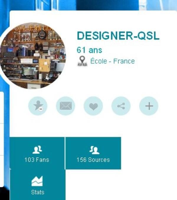 Blog de DESIGNER-QSL..... AMATEUR RADIO  A L'HONNEUR FIDELE LECTEUR DU BLOG 73s