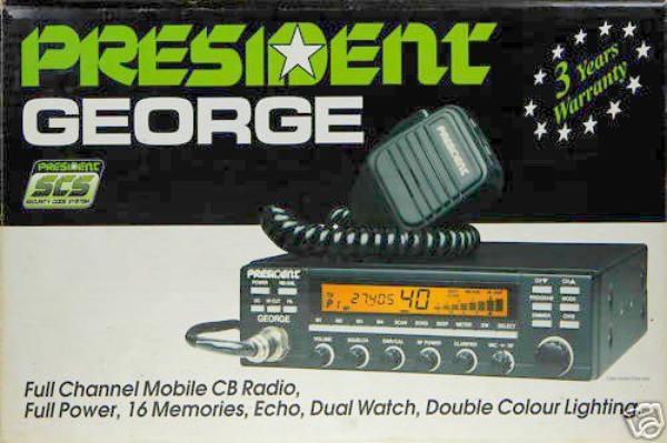 Présentation CB/CIBI Président George Francais .....il est passé dans les mains F4HKD il a passé Test et fonctionne très bien  il a regardé si il été bien sur les fréquences et la  puissance de sortie