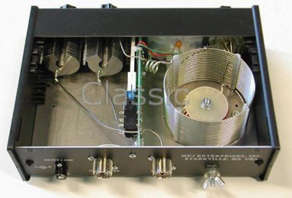 MFJ 945E Tuner mobile de 1,8 à 50 MHz  300 W PEP | Avec mini-mètre croix