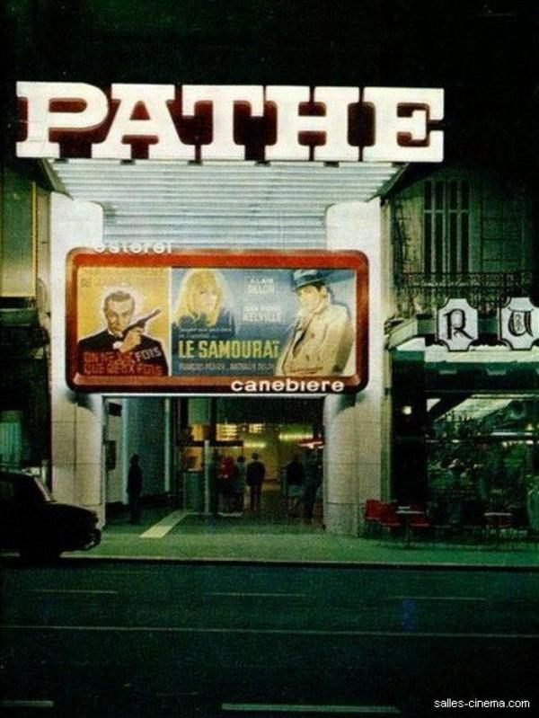 au cinéma de la canebière les année 1977