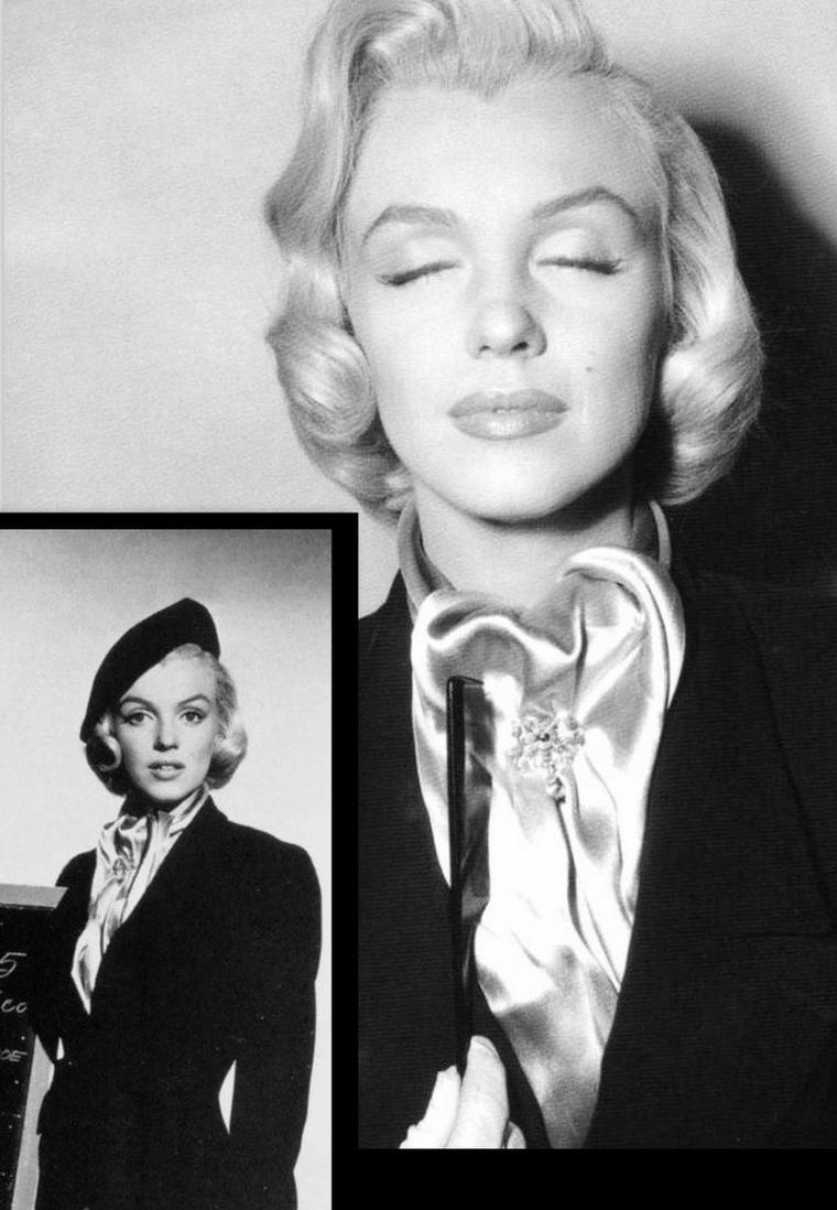 """1953, ESSAIS costumes et coiffures pour le film """"How to marry a millionaire"""" de Jean NEGULESCO (part 3)."""