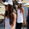 _04/09: Ashley sort de l'Equinox gym à West Hollywood. _