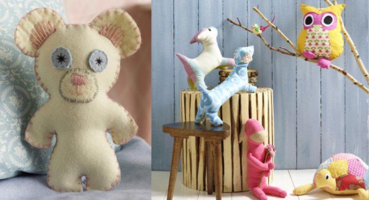 Lien vers un site avec des patrons gratuits pour réaliser des doudous pour vos poupées , vos enfants, petits enfants