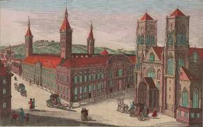 Jean-Théodore de Bavière (1744-1763) et la plaquette (Dgs 1174, Chestret 682) atelier de Liège