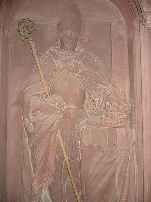 Raoul de Zähringen (1167-1191) et le denier (Dgs 364, Chestret 121) atelier de Liège