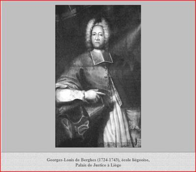 Georges-Louis de Berghes (1724-1743) et le liard (Dgs 1152, Chestret 674) atelier de Liège